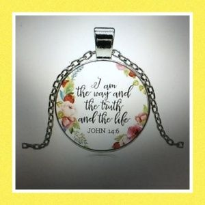 Jewelry - John 14:6 Pendant Necklace